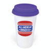 Plastic Take Out Mug in purple
