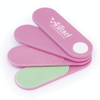 Tuplet Nail File And Emery Board Set in pink