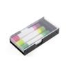 Wax Crayon 3Pc Highlighter Crayon Set in black