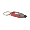 Iota Plastic Touch Screen Stylus And Screen Cleaner in red