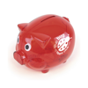 Piggy Money Boxes in red