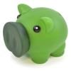 Rubber Nose Piggy in green