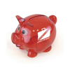 Piglet Bank in red
