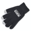 Smart Phone Gloves in black