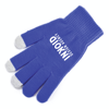 Smart Phone Gloves in blue
