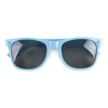 Sunglasses in cyan
