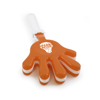 Large Hand Clapper in orange
