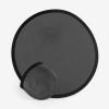 Foldable Frisbee Flying Disc in black