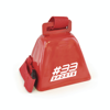 Cow Bell in red