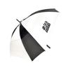 Square 29 Inch Square Manual Golf Umbrella in black