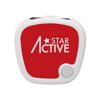 Colour Pedometer in red
