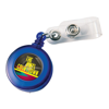 Retractable Pass Holder in blue