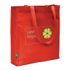 Eco Long Handle Shopper in red