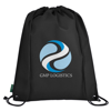 Eco-Friendly Drawstring Bag in black