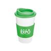 Americano Mug in white-mug-green-lid-and-grip