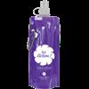 Foldable Sports Bottle in purple