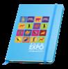 Hardbacked Notebook (A5) in blue