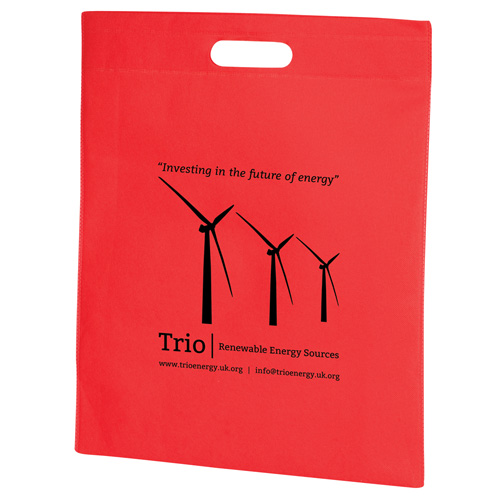 PP Carrier Bag in red