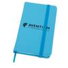 Soft Feel Notebook in cyan