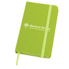 Soft Feel Notebook in lime