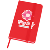 Soft Feel Notebook in red