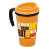 Americano Grande Thermal Mug in orange