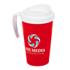 Americano Grande Thermal Mug in red