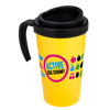 Americano Grande Thermal Mug in yellow