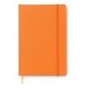 A5 notebook in orange