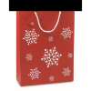 Gift paper bag large in red