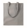 Shopping bag w/ long handles    in grey