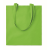 Shopping bag w/ long handles    in lime