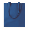 Shopping bag w/ long handles    in royal-blue