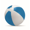 Inflatable beach ball in blue