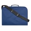 Document Bag W/ Shoulder Strap in blue