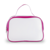 Transparent Cosmetic Bag in baby-pink