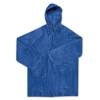 PEVA raincoat                   in blue