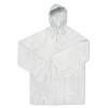 PEVA raincoat                   in transparent
