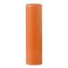 Lip balm in orange