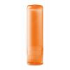 Lip balm in transparent-orange