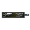 6-tool manicure set in pouch    in black