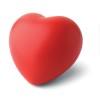 Anti-stress heart PU material in red