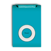 Trendy Style Pedometer W/ Clip in blue