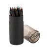 Black Colouring Pencils in black