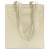 Shopping Bag In Nonwoven in ivory