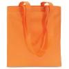 Shopping Bag In Nonwoven in orange