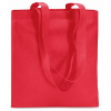 Shopping Bag In Nonwoven in red