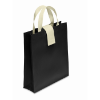 Nonwoven Shopping Bag in black