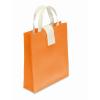 Nonwoven Shopping Bag in orange