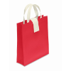 Nonwoven Shopping Bag in red
